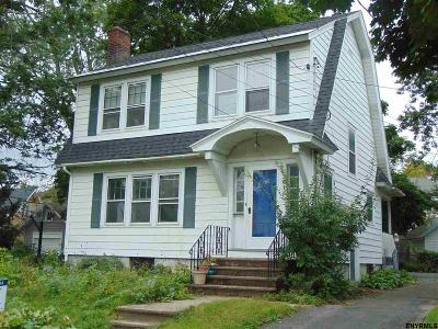 Schenectady Single Family Home Price Change: 615 Rankin Av