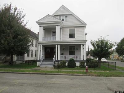 Troy Two Family Home For Sale: 199 Sixth Av