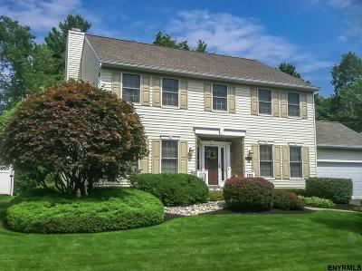 Colonie Single Family Home For Sale: 13 Squire Rd