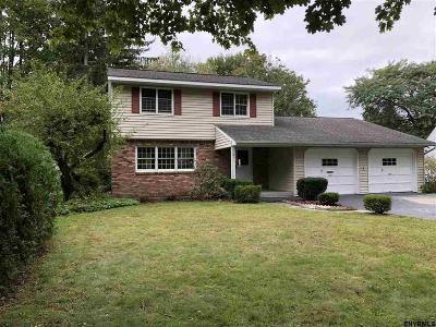 East Greenbush Single Family Home For Sale: 6 Highland Dr