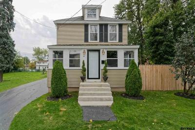 East Greenbush Single Family Home For Sale: 81 Sherwood Av