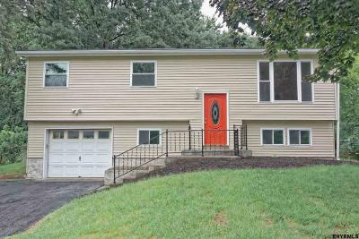 Colonie Single Family Home For Sale: 68 Rapple Dr