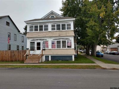Watervliet NY Two Family Home Pend (Under Cntr): $169,900