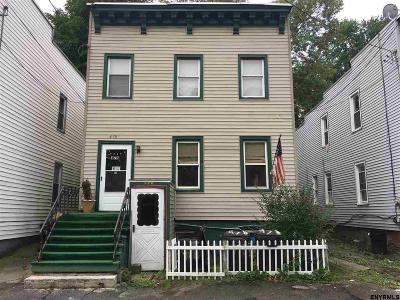 Albany Two Family Home For Sale: 478 3rd St