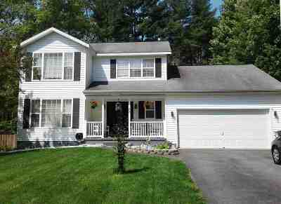 Wilton Single Family Home For Sale: 89 Damascus Dr