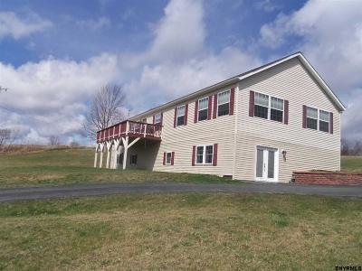 Schoharie County Single Family Home For Sale: 640 Stony Brook Rd
