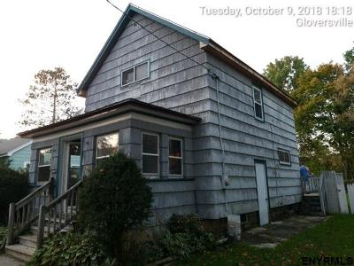 Gloversville Single Family Home For Sale: 119 Sixth Av