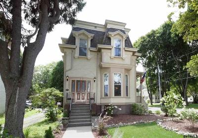 Saratoga County Single Family Home For Sale: 49 West High St