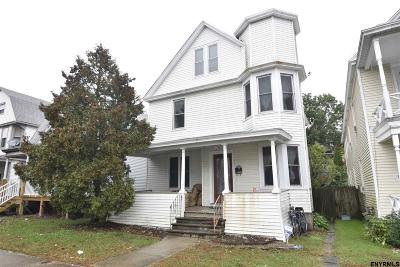 Troy Single Family Home For Sale: 188 6th Av