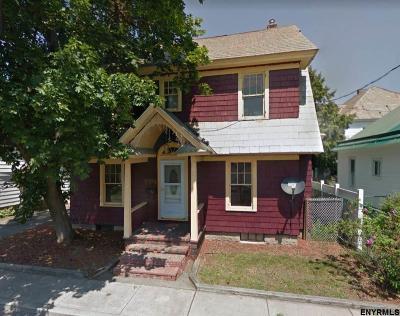 Glens Falls Single Family Home For Sale: 34 Goodwin Av