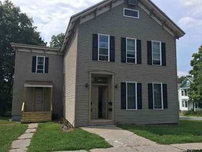 Rensselaer County Rental For Rent: 141 Maple Av