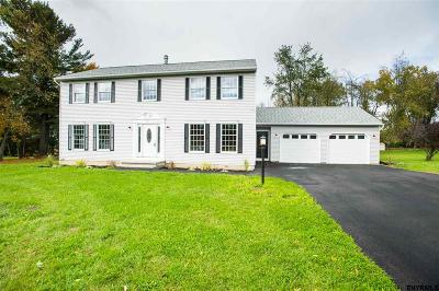 Rensselaer County Single Family Home For Sale: 1615 Tina La