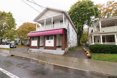Single Family Home For Sale: 105-107 Maple Av