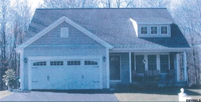 Clifton Park Single Family Home New: 124 Honey Hollow