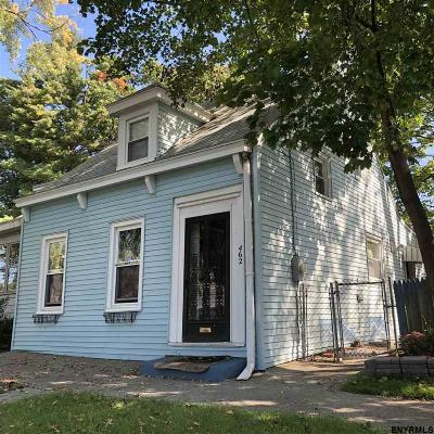 Albany NY Single Family Home For Sale: $129,900
