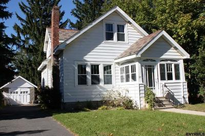 Albany NY Single Family Home For Sale: $160,000