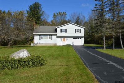 Saratoga County Single Family Home For Sale: 854 Charlton Rd