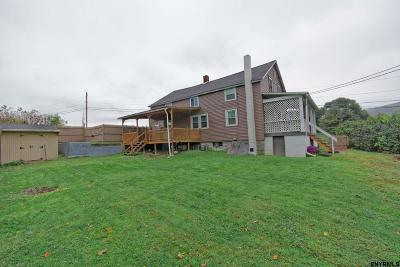 Rensselaer County Single Family Home New: 7 Bulson Rd