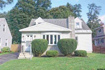 Schenectady Single Family Home New: 10 Dover Dr