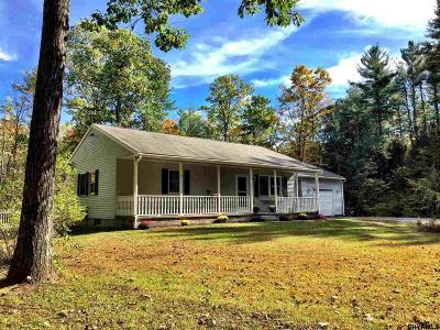 Saratoga County Single Family Home New: 120 South Greenfield Rd