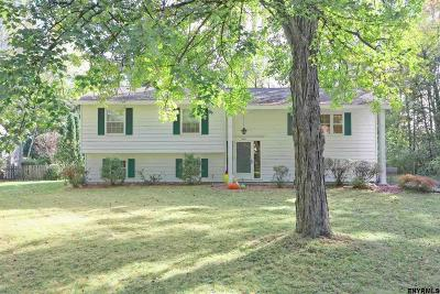 Niskayuna Single Family Home New: 924 Northumberland Dr