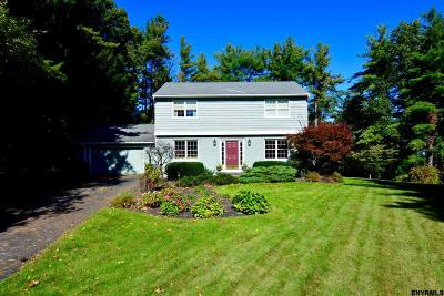 Niskayuna Single Family Home For Sale: 1116 Merlin Dr