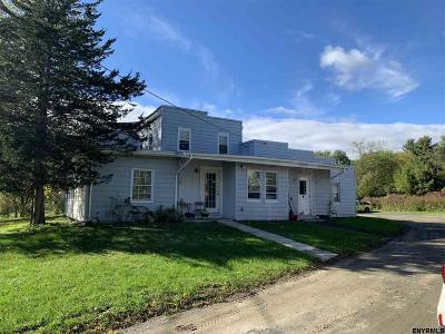 Albany County, Columbia County, Greene County, Fulton County, Montgomery County, Rensselaer County, Saratoga County, Schenectady County, Schoharie County, Warren County, Washington County Multi Family Home New: 2349 East Schodack Rd