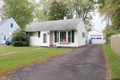 Albany County, Columbia County, Greene County, Fulton County, Montgomery County, Rensselaer County, Saratoga County, Schenectady County, Schoharie County, Warren County, Washington County Single Family Home New: 57 Keeler Dr
