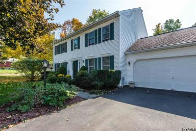 East Greenbush Single Family Home For Sale: 1 Hydor Dr