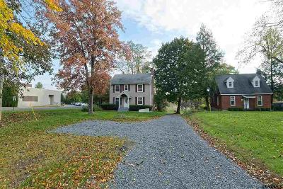 Rensselaer County Single Family Home For Sale: 1549 Columbia Turnpike