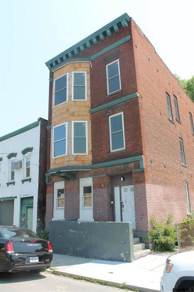 Troy Multi Family Home For Sale: 646 River St