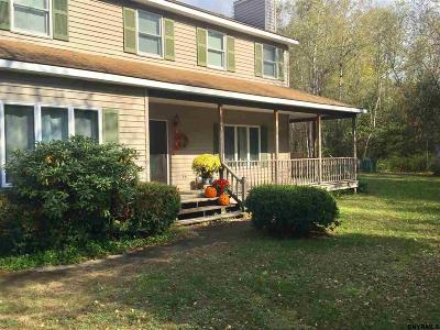 Rensselaer County Single Family Home For Sale: 324 Hunt Rd