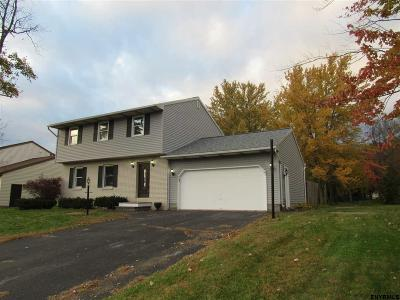 Colonie Single Family Home For Sale: 4 Brookside Ct
