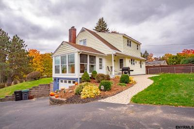 Colonie Single Family Home For Sale: 14 Sky View Dr