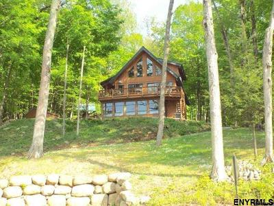Fulton County, Hamilton County, Montgomery County, Saratoga County, Warren County Single Family Home For Sale: 2152 South Shore Rd