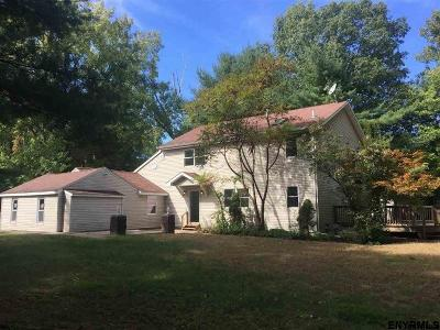 Clifton Park Single Family Home Price Change: 661 Bruno Rd