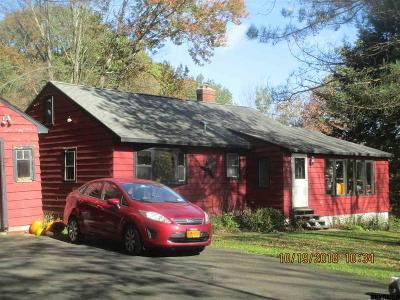 Columbia County Single Family Home For Sale: 605 County Rt 34