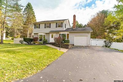 Colonie Single Family Home Price Change: 14 Sparrowbush Rd South