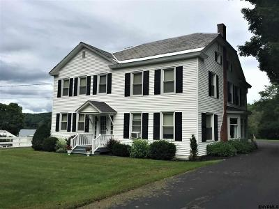 Albany County, Saratoga County, Schenectady County, Warren County, Washington County Single Family Home For Sale: 2708 State Route 22