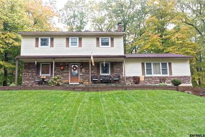 Clifton Park Single Family Home For Sale: 47 Brookline Dr