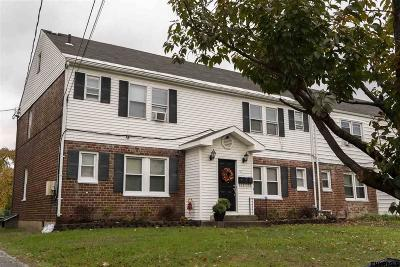 Schenectady Multi Family Home For Sale: 117 Jackson Av