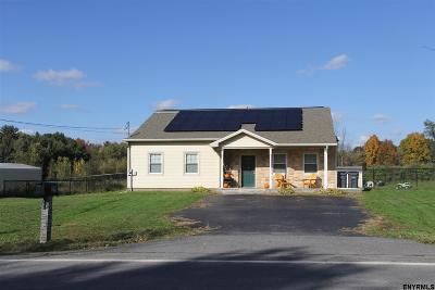 Mechanicville, Stillwater Single Family Home For Sale: 220 County Route 76