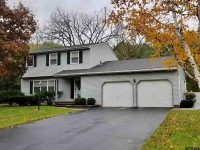 Colonie Single Family Home Back On Market: 5 Lynnwood Dr