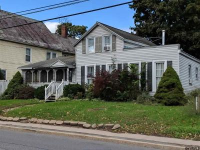 Mechanicville, Stillwater Single Family Home For Sale: 625 Hudson Av
