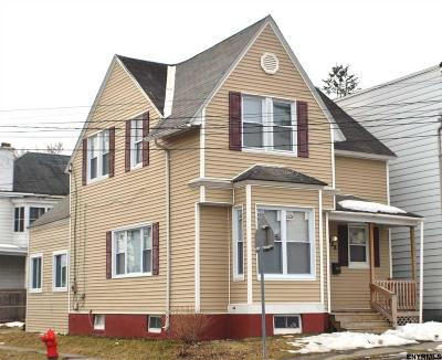 Cohoes Single Family Home For Sale: 188 Columbia St