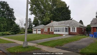 Albany NY Single Family Home For Sale: $189,900