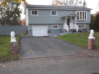 Albany Single Family Home Price Change: 81 Rapple Dr