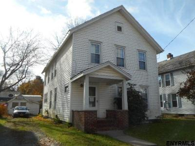 Rensselaer County Single Family Home Price Change: 50 Center St