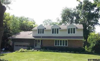 Niskayuna Single Family Home For Sale: 1013 Millington Rd