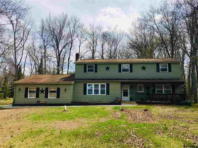 Saratoga County Single Family Home For Sale: 26 Barney Rd